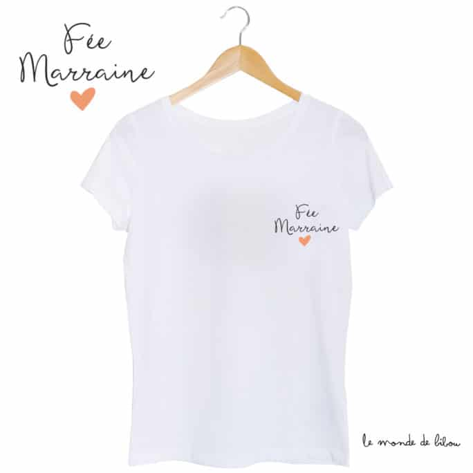 T-shirt Fée marraine