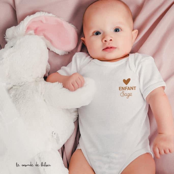 Body Enfant sage cœur