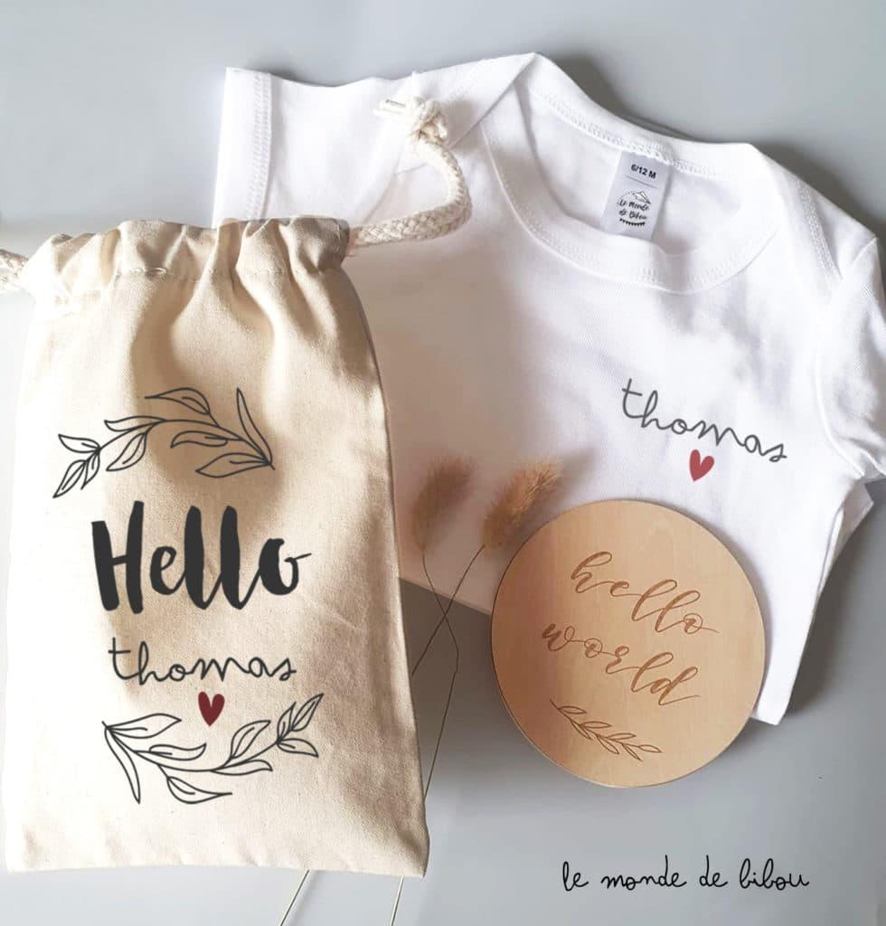 Kit naissance Hello world