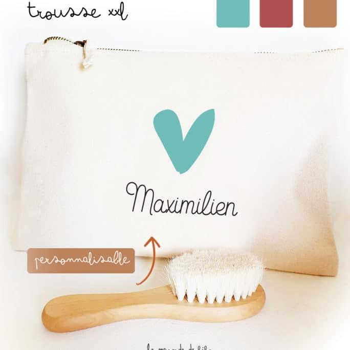 Trousse Petit cœur personnalisable