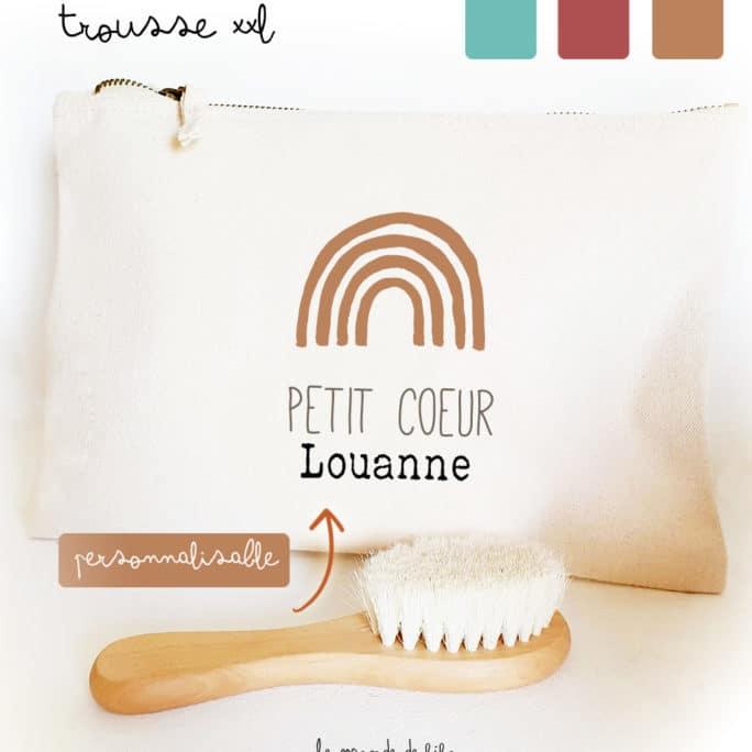 Trousse Arc-en-ciel personnalisable