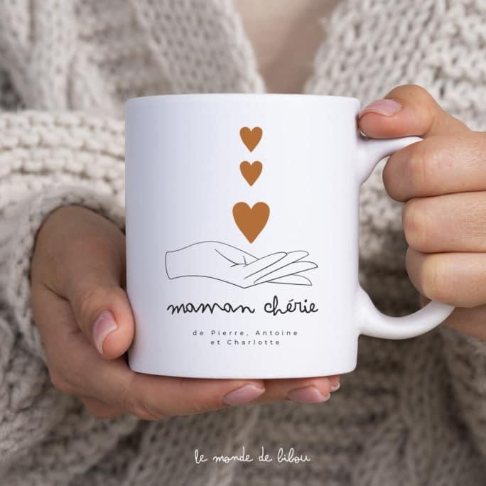 Mug personnalisé Maman chérie