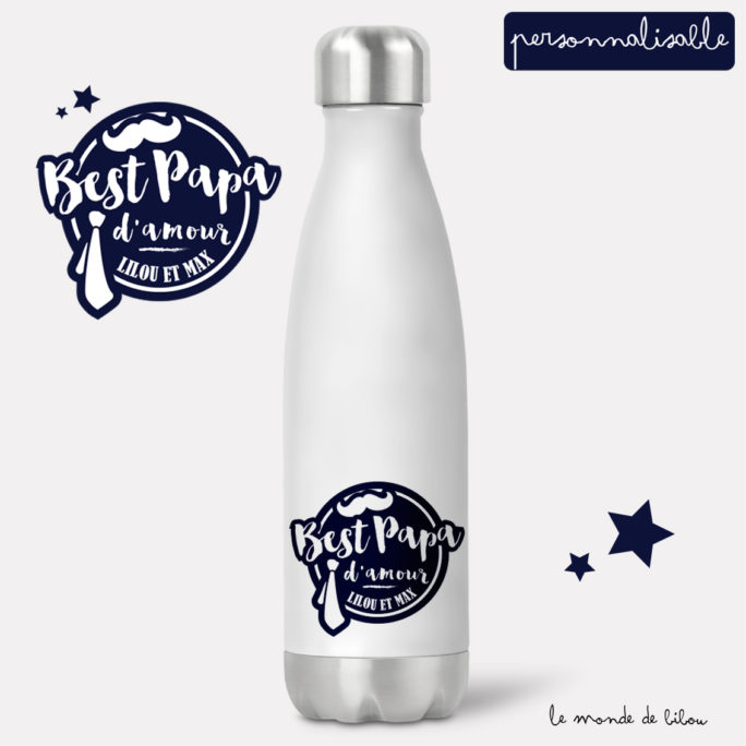 Bouteille isotherme Best Papa