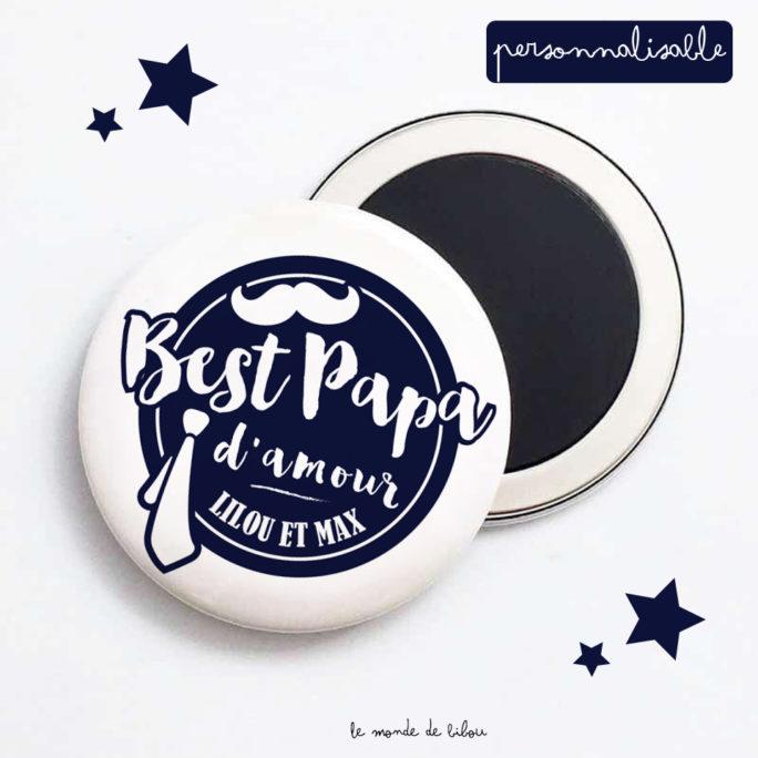 Magnet personnalisé Best PAPA