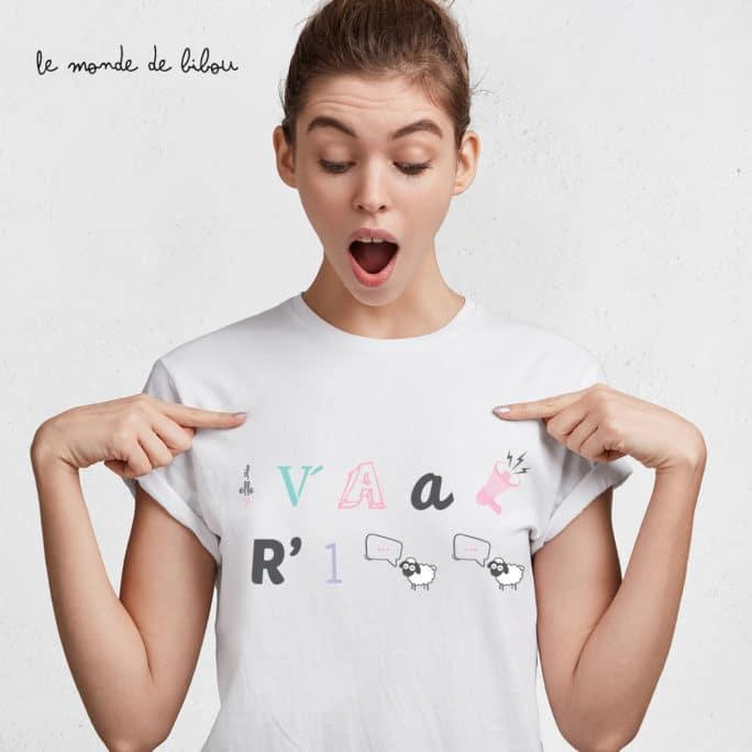 T-shirt rébus annonce grossesse