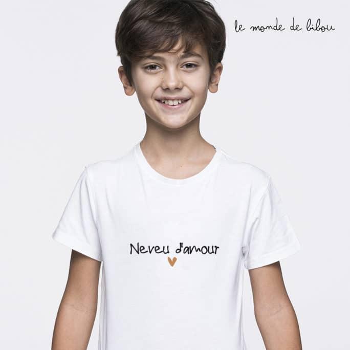T-Shirt enfant Neveu Nièce
