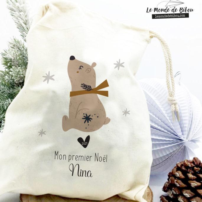 Hotte Mon 1er Noël taille S