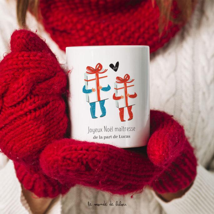 Mug Joyeux Noël Maîtresse Nounou