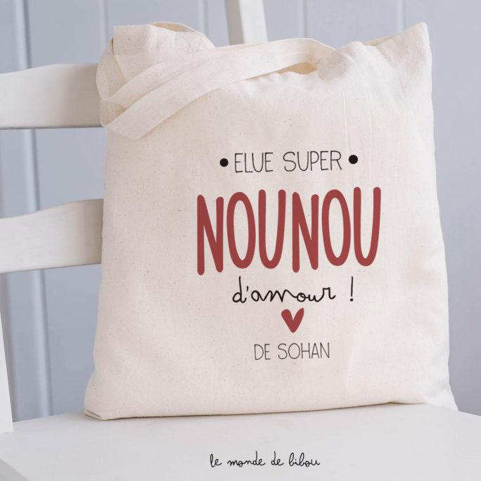 Sac Élue Nounou d'amour